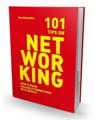 "Книга ""101 Tips on Networking"" title="
